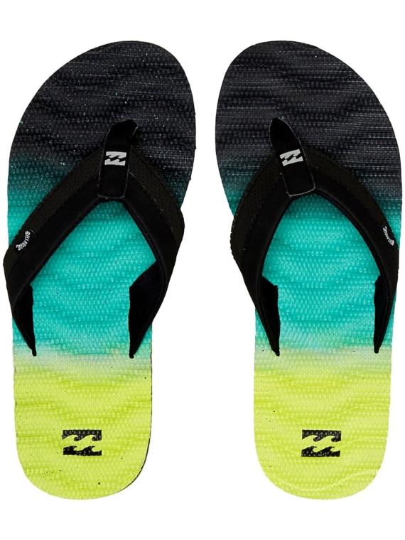 Billabong Dunes Fade slippers geel