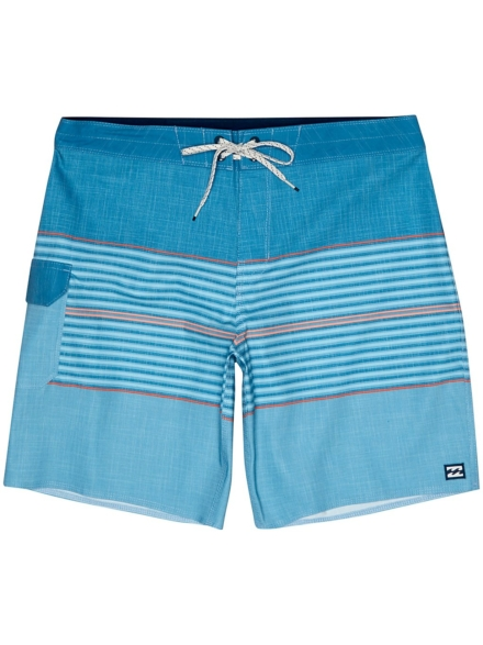 Billabong All Day Heather Stripe Pro Boardshorts blauw