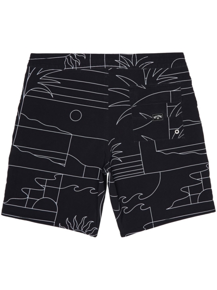 Billabong Sundays Lt Boardshorts zwart