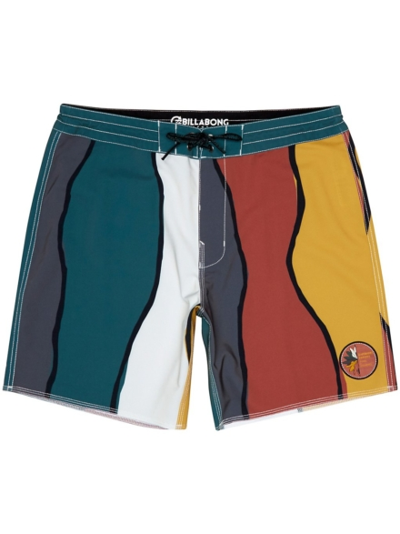 Billabong Factory Lt Boardshorts groen