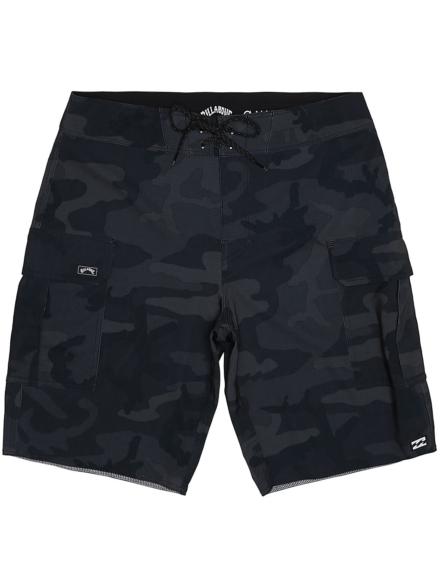 Billabong Combat BBO Pro Boardshorts zwart