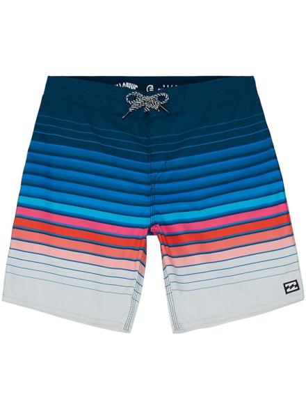 Billabong All Day Stripe Og Boardshorts blauw