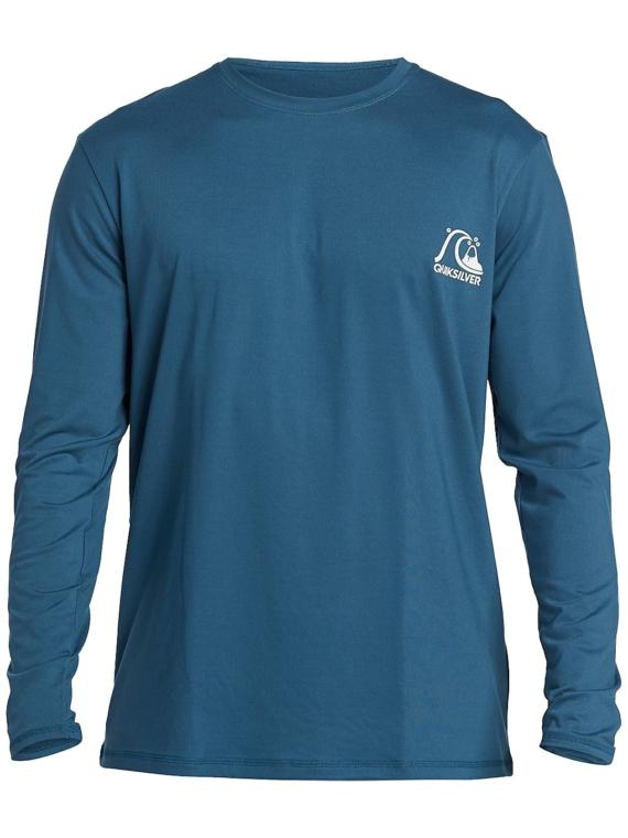Quiksilver Heritage Longsleeve Lycra blauw