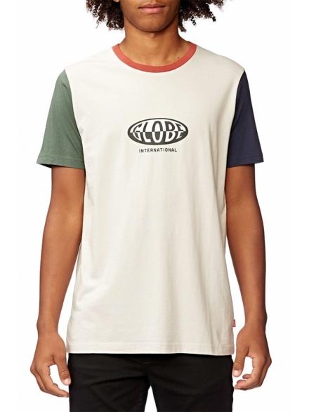 Globe Fisheye T-Shirt grijs