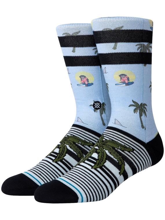 Stance Aloha Monkey ST skisokken blauw