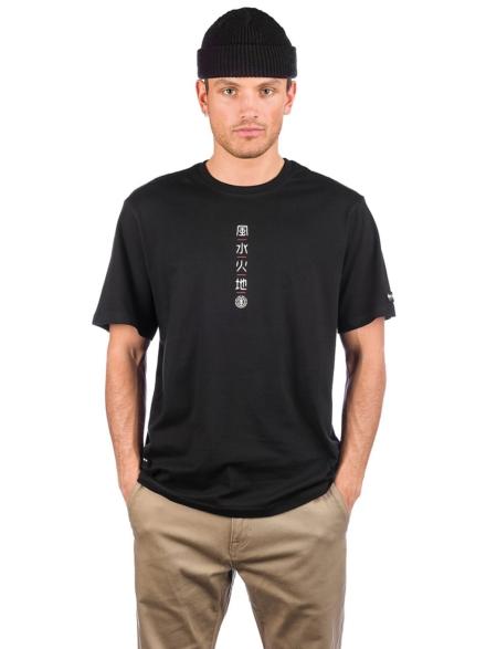 Element Yuki T-Shirt zwart