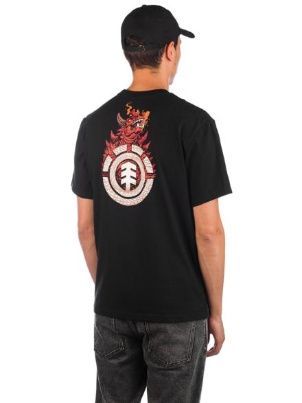 Element Florian T-Shirt zwart
