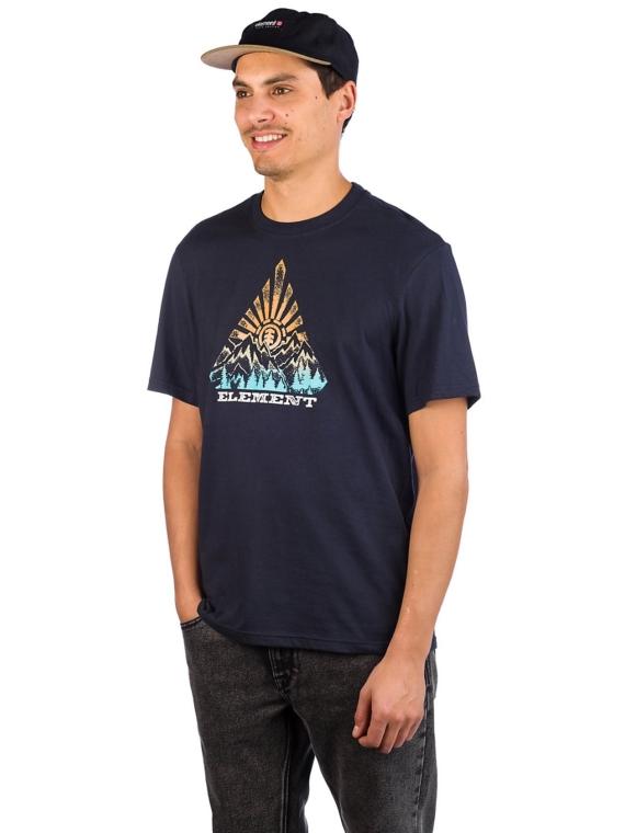 Element Longley T-Shirt blauw