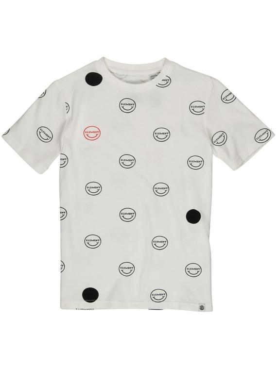 Element Calvin Crew T-Shirt wit