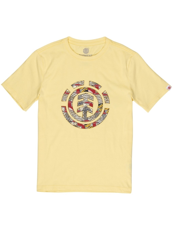 Element Origins Icon T-Shirt geel