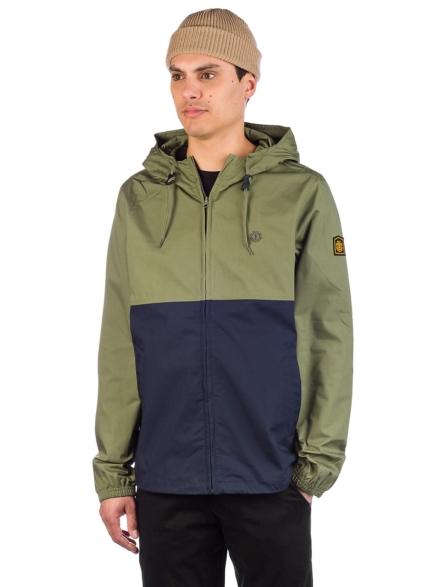 Element Alder Light 2Tones Ski jas groen
