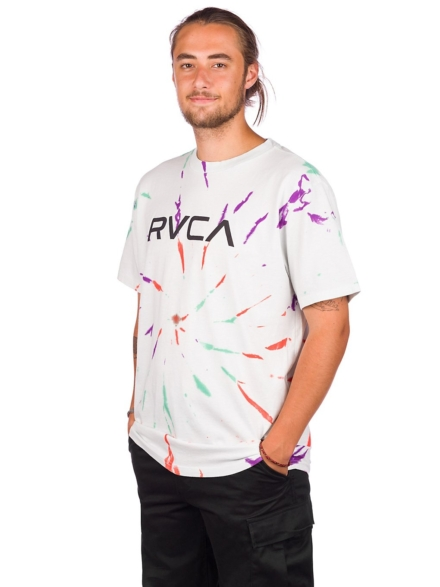 RVCA Rvca Tie Dye T-Shirt patroon