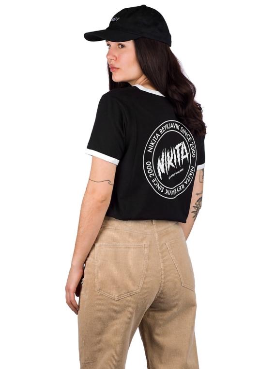 Nikita Dusk Ringer OG T-Shirt zwart