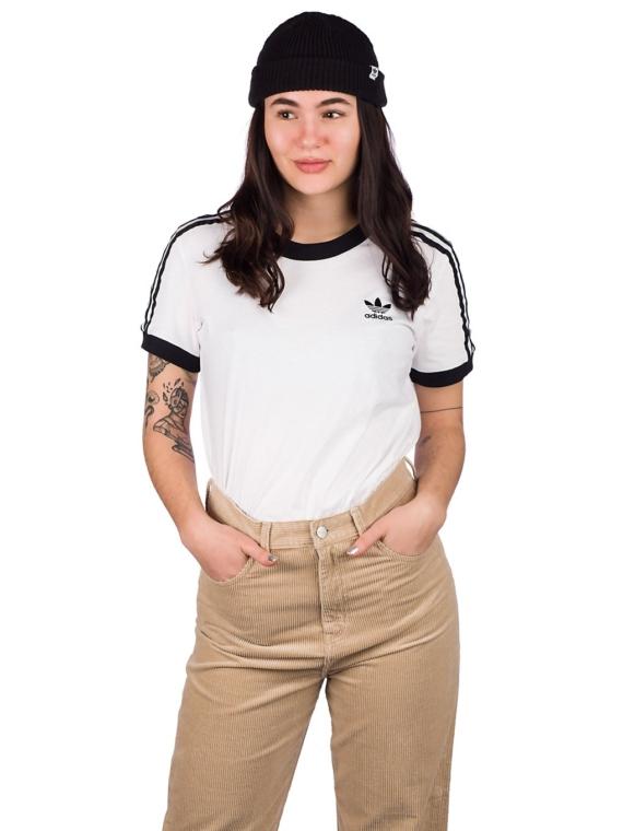 adidas Originals 3 Stripes T-Shirt wit