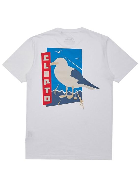 Cleptomanicx Port of Origin T-Shirt wit