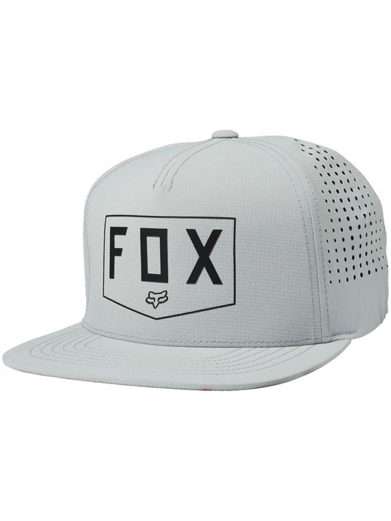 Fox Shielded Snapback petje grijs