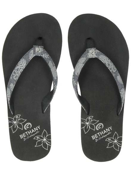 Cobian Bethany Tradewinds slippers zwart
