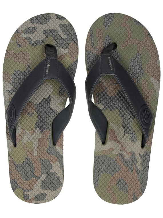 Cobian Shorebreak Camo slippers camouflage