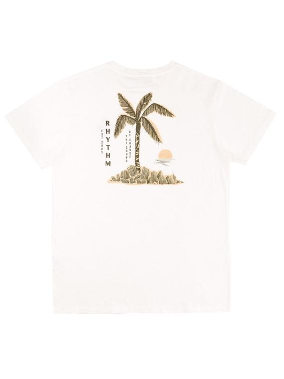 Rhythm Okinawa T-Shirt wit