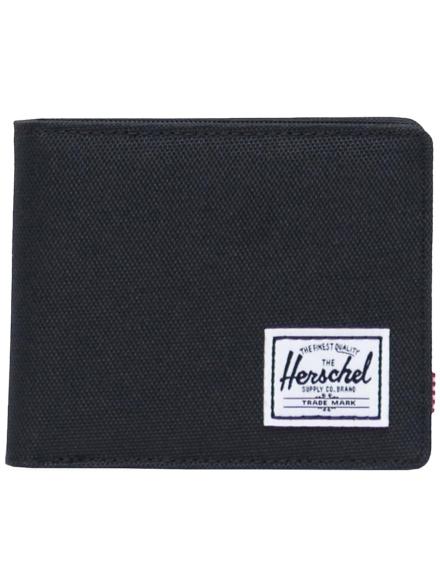 Herschel Roy Coin RFID Portemonnee zwart