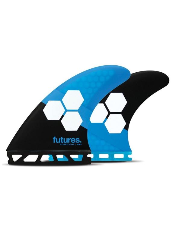Futures Fins Thruster AM1 Al Merrick Honeycomb Fin Set blauw
