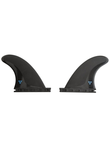 Futures Fins Quad QD2 4.00 Sym Alpha Fin Set patroon