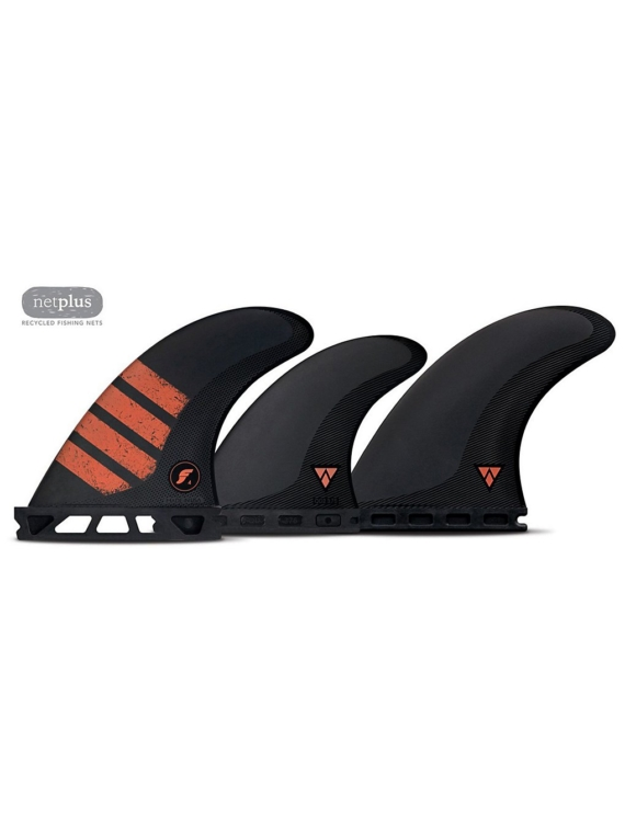 Futures Fins Quad Thruster 5 F4 Alpha Fin Set patroon