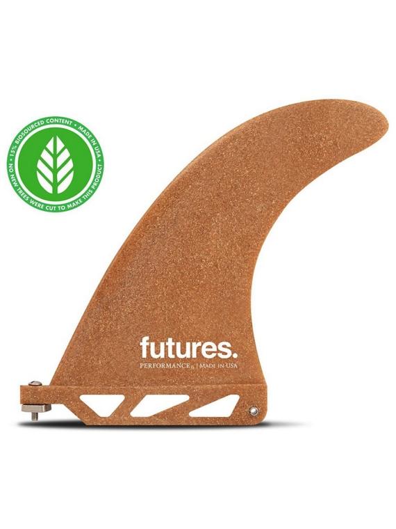 Futures Fins Performance 6.0 RWC Us Fin bruin