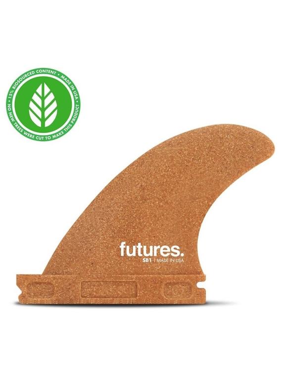 Futures Fins Sidebites SB1 3.5 RWC Fin Set bruin