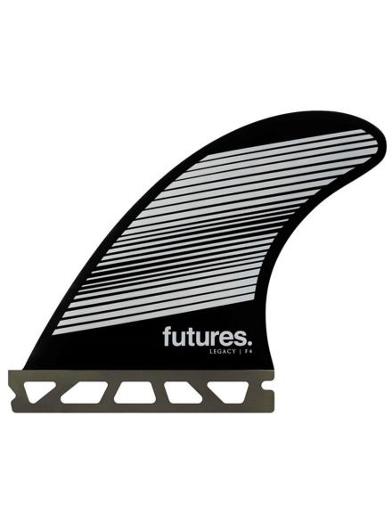 Futures Fins Thruster F4 Honeycomb Fin Set zwart