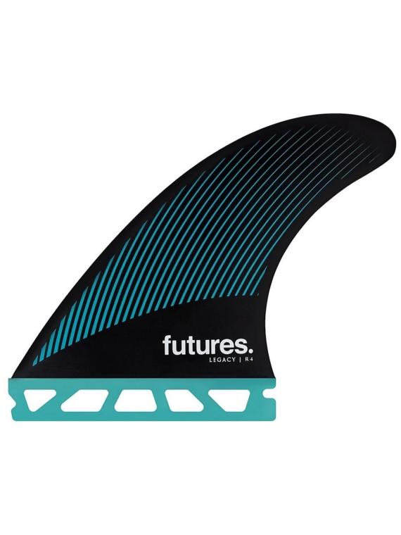 Futures Fins Thruster R4 Honeycomb Fin Set zwart