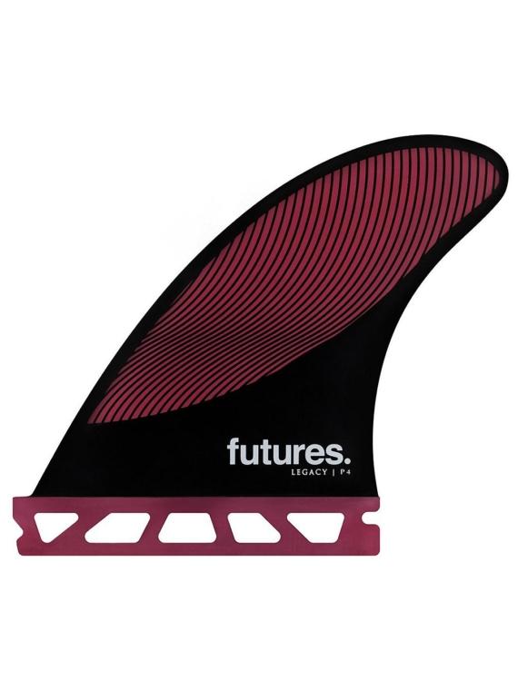Futures Fins Thruster P4 Honeycomb Fin Set zwart