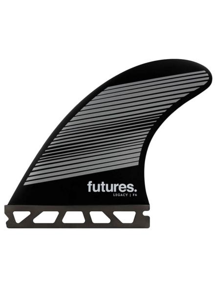 Futures Fins Thruster F6 Honeycomb Fin Set zwart