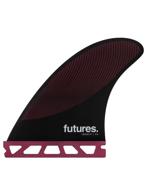 Futures Fins Thruster P6 Honeycomb Fin Set zwart