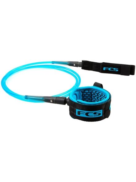 FCS Comp Essential 5.0 Leash blauw