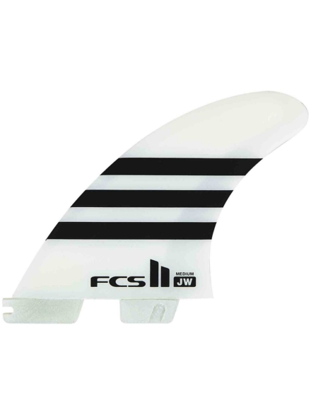 FCS II JW PC Large Tri Retail Fin Set wit