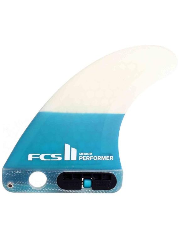 FCS II Performer PC Small Tri Retail Fin Set blauw