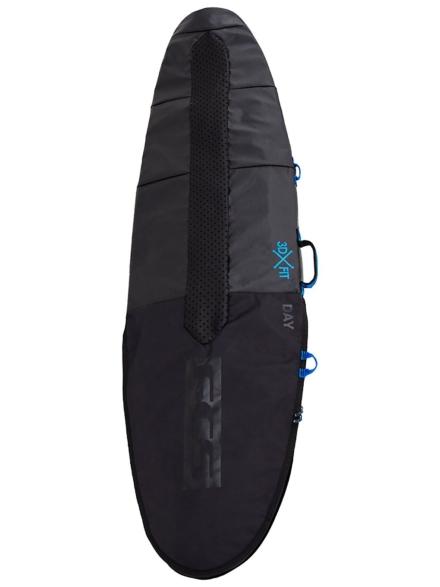 FCS Day Fun Board 5'6 Surfboard tas zwart