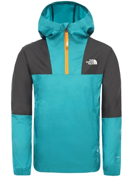 THE NORTH FACE Yafita 1/4 Zip Wind Anorak groen
