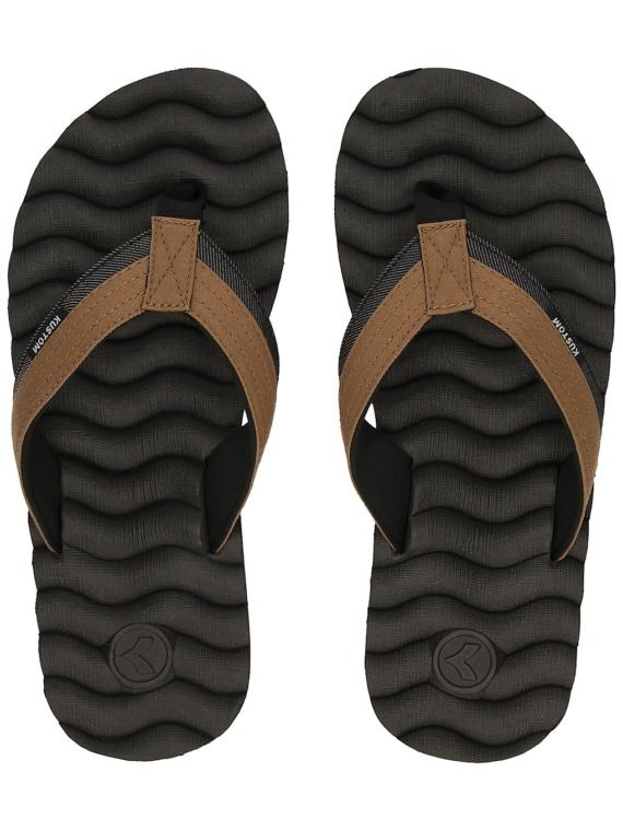 Kustom Hummer III slippers blauw
