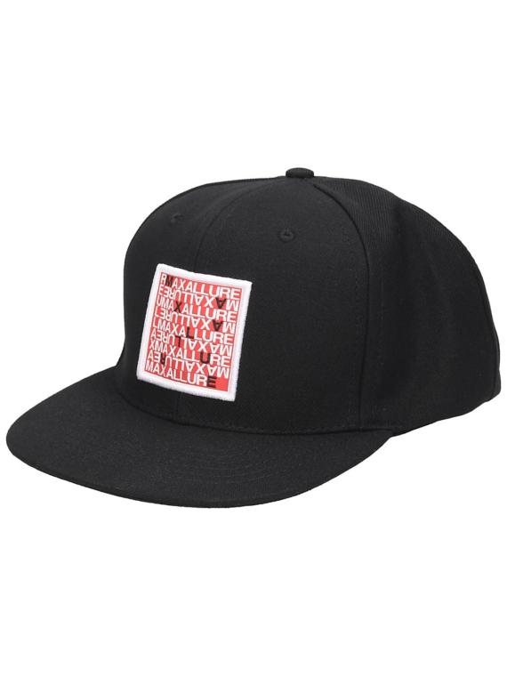 Maxallure Snapback hoed zwart