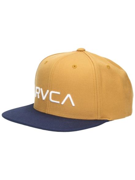 RVCA Twill Snapback petje blauw