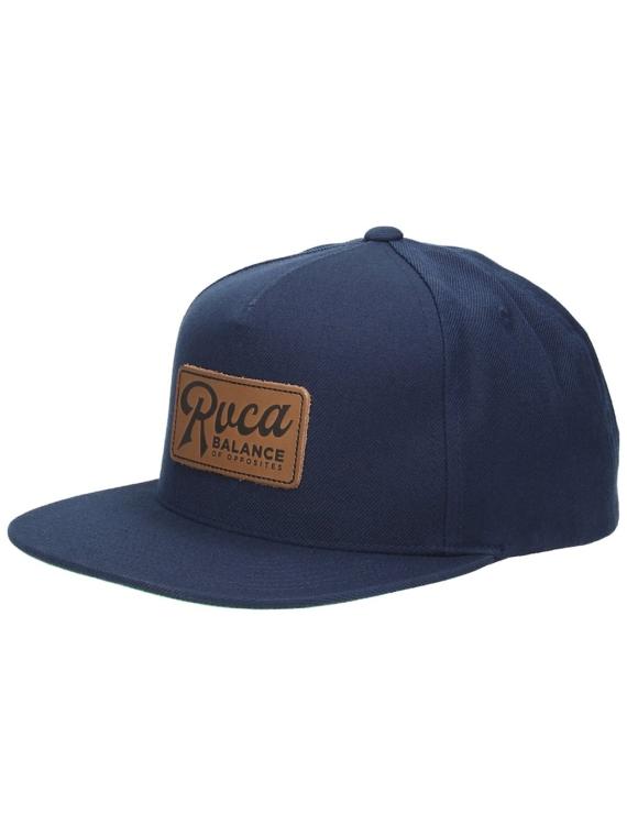 RVCA Strokes Snapback petje blauw