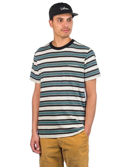 RVCA Damian Crew T-Shirt grijs