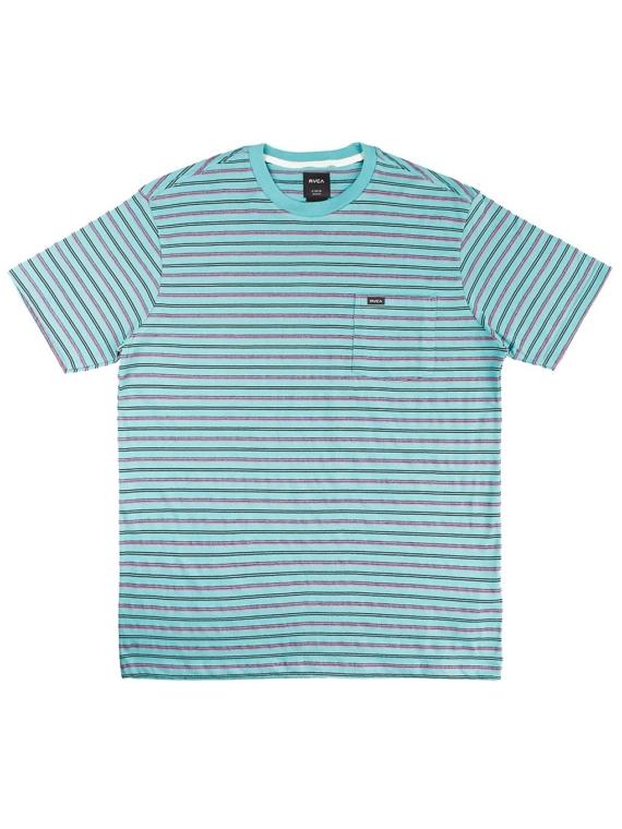 RVCA Runaway T-Shirt blauw
