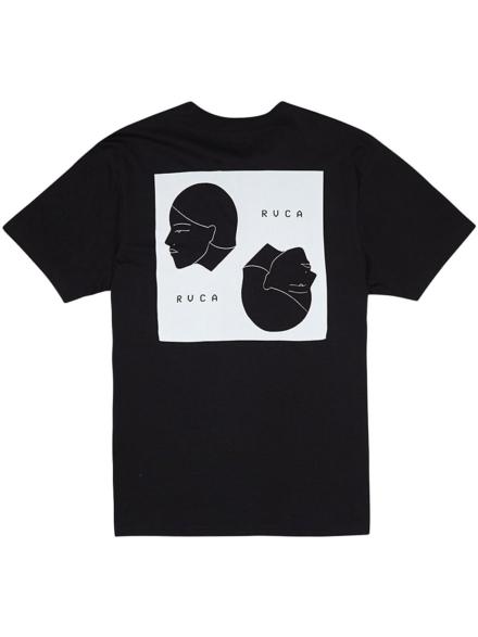 RVCA Johannas Heads T-Shirt zwart