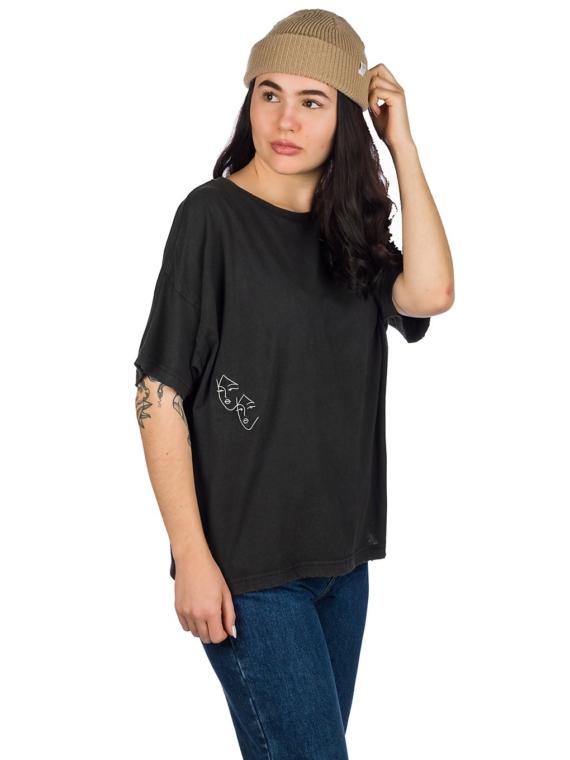 RVCA Au Revoir T-Shirt zwart