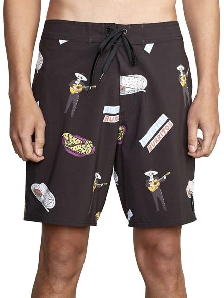 RVCA Hot Fudge Boardshorts zwart