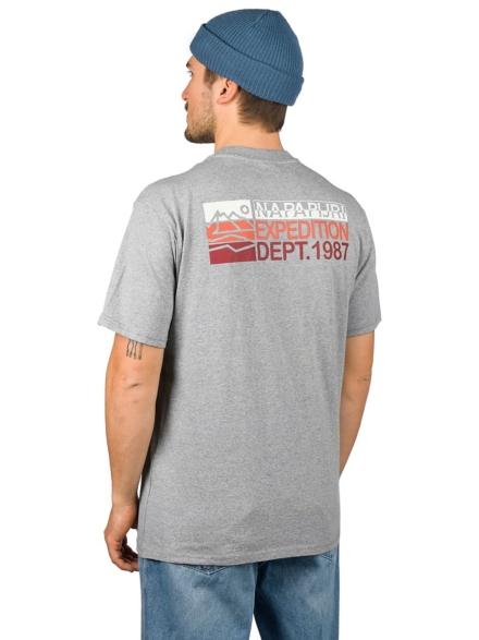 Napapijri Sole SS T-Shirt grijs