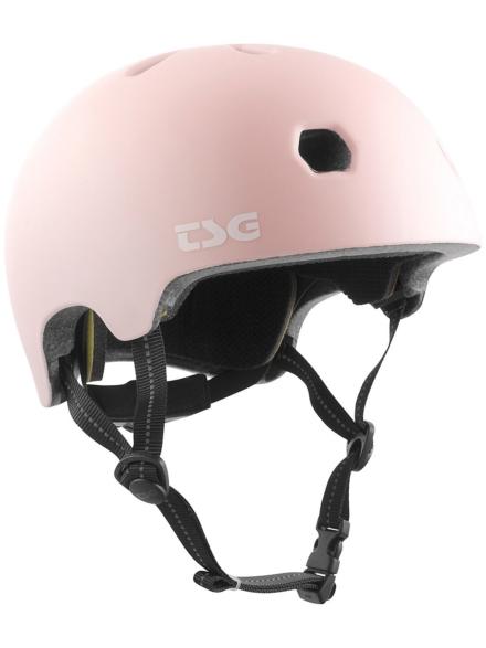 TSG Meta Solid Color Skihelm roze